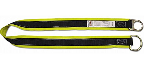 Guardian Fall Protection 10785 Premium 3-Foot Cross-Arm Straps with Large and Small D-Rings by Guardian Fall Protection