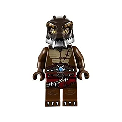 LEGO Legends of Chima: CRUG from Croc Tribe Minifigure & Weapons/Accessories: Toys & Games