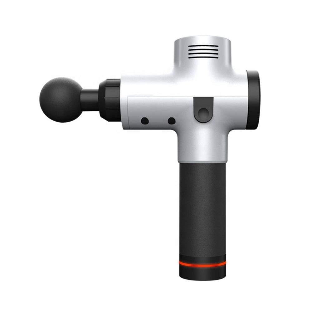 ミニ振動ハンドヘルドジム機器リラックススポーツコードレスガンディープマッスルマッサージガン B07S9DVCN9