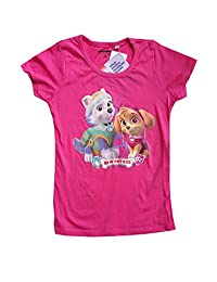 Girls Official Paw Patrol Tshirt Top Age 3 to 8 Years