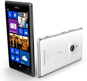 Nokia Unlocked Lumia 925 WP8 Smart Mobile Phone (White)