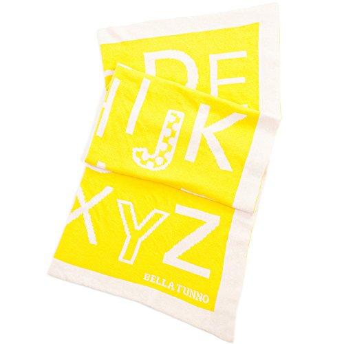 (Bella Tunno Favorite Blanket, Alphabet Soup/Yellow, 40