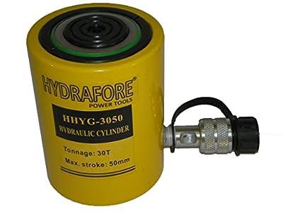 """30 tons 2"""" stroke Single Acting Hydraulic Cylinder Lifting Jack Ram YG-3050"""