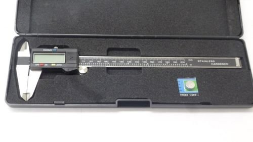New MTN-G 8'' Digital Electronic Caliper Precision Stainless Inch Metric LCD Dial