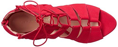 Loeffler Randall Women's Lottie Nubuck Dress Sandal Red btAQ9qj