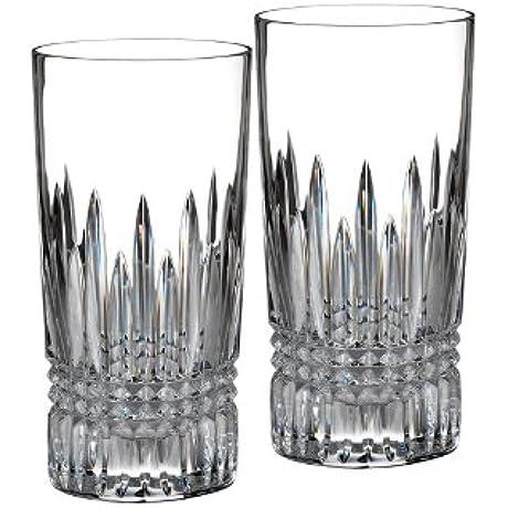 Lismore Diamond Hiball Glass Set Of 2