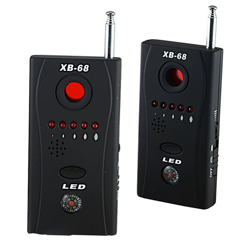 Finder Spy Camera (XB-68 Counter Surveillance Audio Recording and RF Detector/Hidden Spy Camera Finder)