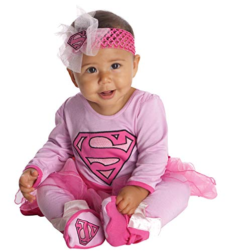 Rubie's Costume Co costume's Dc Comics Supergirl Onesie and Headpiece, As As Shown, 6-12 Months]()