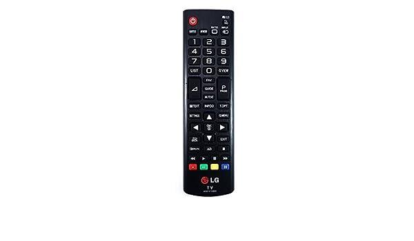 LG remoto para LG 42LN5200 TV Control REMOTO: Amazon.es: Electrónica