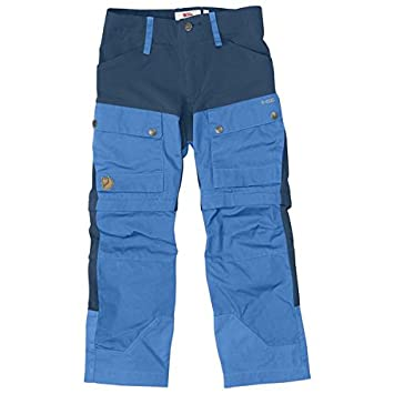 Fjällräven Kids Keb Gaiter Trousers Trekkinghose Trekkingsshorts Kinder Un Blue 158 Fjällräven F80523-UN Blue-158