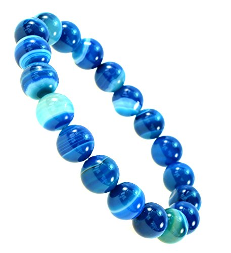 Simulated Botswana Gemstone Bracelet Healing