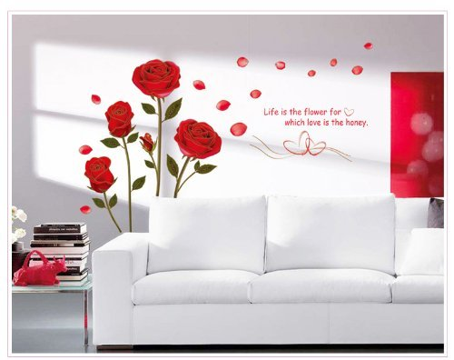 onehouse-four-red-blooming-roses-with-leaves-and-love-quote-removable-wall-decal-for-bedroom-living-