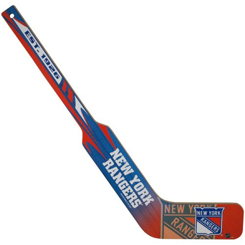 York New Goalie Rangers (Wincraft NHL New York Rangers WCR27518010 Hockey Goalie Stick, 21