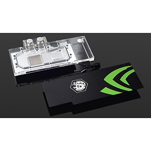 Bitspower GPU Waterblock for Nvidia GTX 1080 Ti Founder Edition, Clear Acrylic by Bitspower