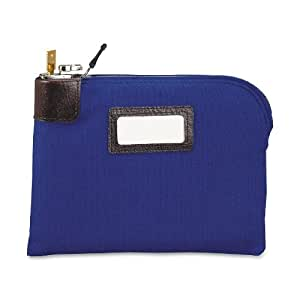 MMF Industries Seven-pin Security/Night Deposit Bag with 2 keys, 11 x 8-1/2 Inches, Royal Blue (2330881W08)