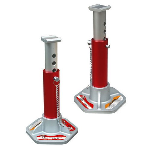 Torin Big Red Aluminum Jack Stands: 3 Ton Capacity, 1 Pair (Car Jack Aluminum)