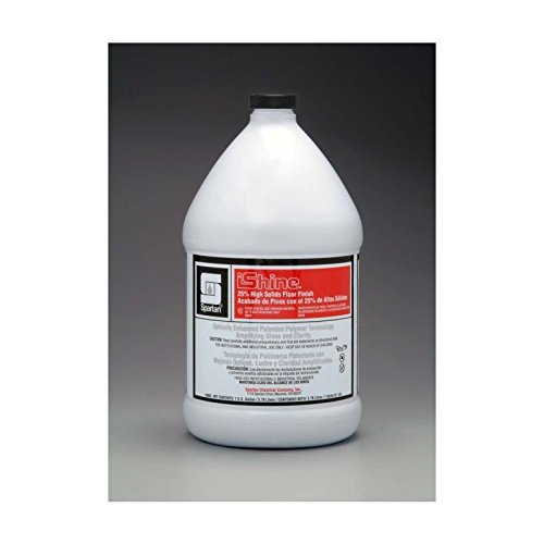 Spartan iShine Floor Finish, Gallons, 4 Per Case by Spartan