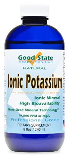 Flüssige Ionic Minerals Kalium (99mg Bei 48 Tage. Fulvic Trace Minerals Plus 2 mg)