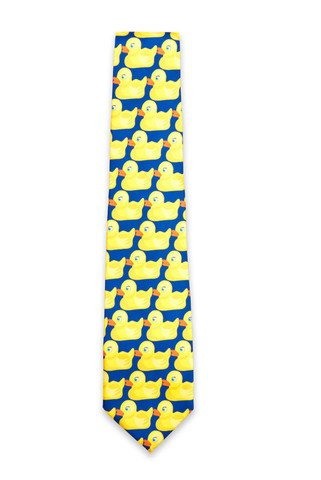 Cool TV Props Mens Barney Stinson'S Ducky Tie as Seen on How I Met your -