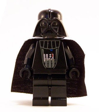 Original Star Wars Characters (LEGO Star Wars Minifigure - Darth Vader Original Classic Version with Lightsaber (6211))