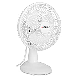 Amazon Com Lorell Llr49257 Desk Fan 6 Quot Home Amp Kitchen
