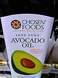 Chosen Foods 100% Avacado Cooking Oil - 1ltr Bottle (33.8fl) (Single Bottle) by Chosen Foods
