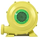 ReunionG Air Blower for Inflatable Bounce House, Jumper, Bouncy Castle (950 Watt 1.25HP) Yellow