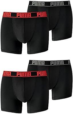 PUMA Calzoncillos Active Calzoncillos Boxer b8383pinl Sport Ventaja en 2 x Pack de 2 Pack, Hombre, Color Black/Red 232, tamaño Extra-Large: Amazon.es: Deportes y aire libre