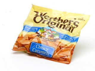 Werthers Original Chewy Caramels - 12 / Case
