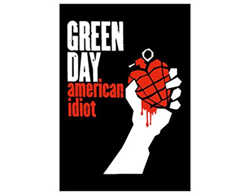 Green Day - American Idiot - Textile Poster Flag - Free Shipping