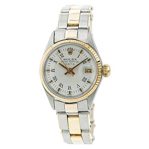 Rolex Date Automatic-self-Wind Female Watch 6516 (Certified (Ladies Rolex Date Watch)