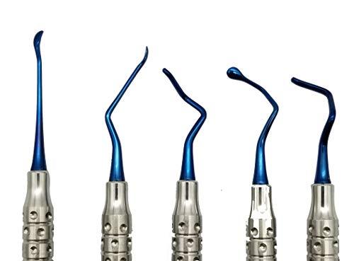 Vista Tunneling procedure Kit (5 pcs, Blue plasma coating) dental periodontologist gum repositioning ARTMAN BRAND by ARTMAN (Image #2)