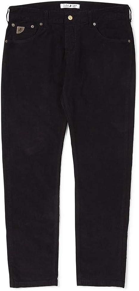 Lois Hombre Sierra Negro Aguja Pantalón de Pana W30 L32: Amazon.es: Ropa y accesorios