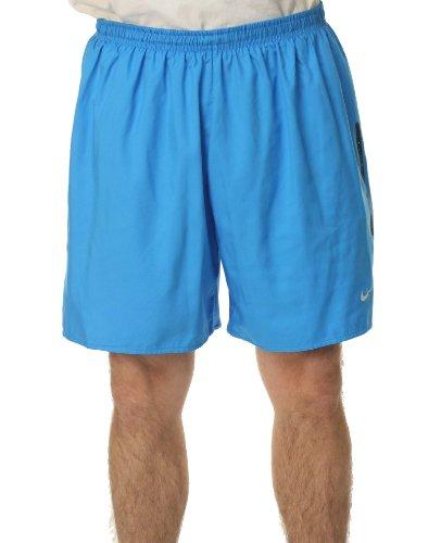 Nike 5 Inch Race Day Men's Running Shorts, Blue (2XL)