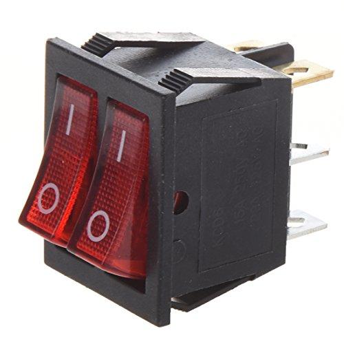 Dual Rocker Switch - 4