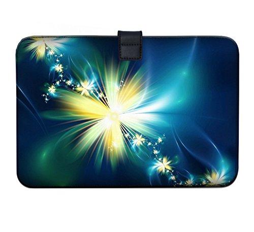 Luxburg Super Slim Sleeve Soft Case Bag for 13-13.3 inch Apple MacBook/Air/Pro/Retina/PowerBook G3/G4/iBook - Bright Flower