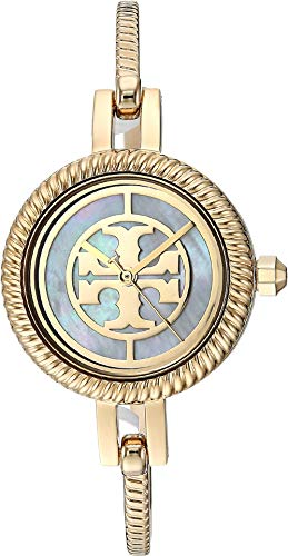 Tory Burch Women's Reva Watch Gift Set, 27mm, Gold/Multi, One Size