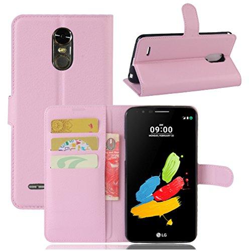 Funda LG Stylo 3/(LG Stylus 3),Manyip Caja del teléfono del cuero,Protector de Pantalla de Slim Case Estilo Billetera con Ranuras para Tarjetas, Soporte Plegable, Cierre Magnético B