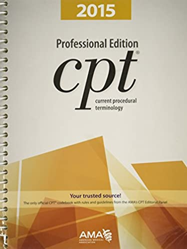 cpt professional edition current procedural terminology current rh amazon com CPT Manual Index CPT Manual Professional Edition