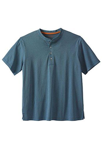 Boulder Creek Men's Big & Tall Heavyweight Short-Sleeve Henley Shirt, - Henley Big And Tall Shirts