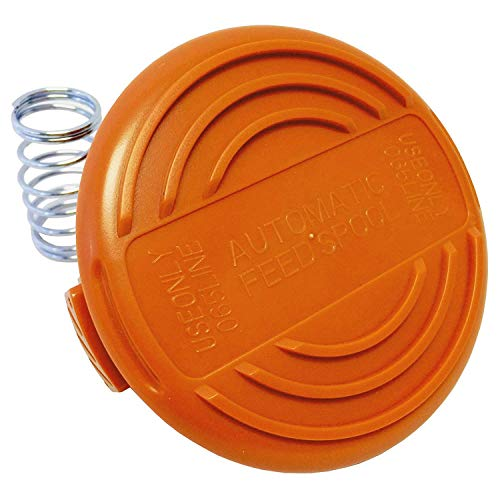 Nrpfell Spool Cap and Spring to Fit Black + Weed Eater Trimmer Dual Line