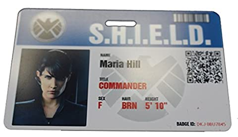 Shield Agent Hill Movie Prop Badge - Agent Badge