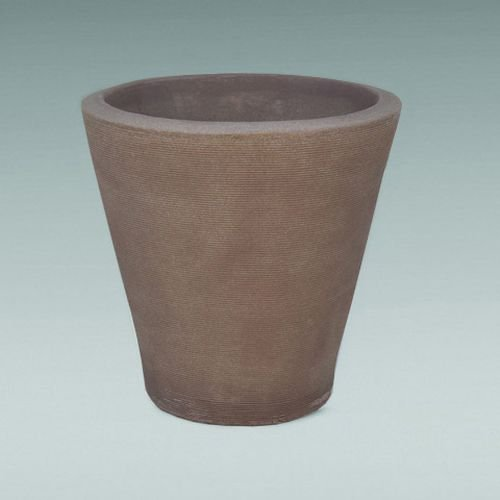 Latin Spirit EP-LSHAV-MOC-20 20 x 20 in. Havana Round Planter44; Mocha by Latin Spirit