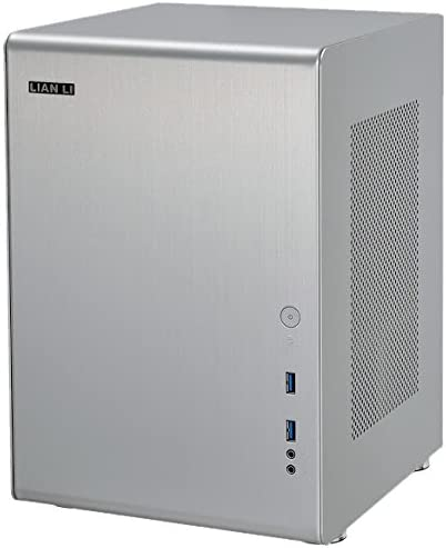 Lian Li PC-Q33A Mini-Tower Plata Carcasa de Ordenador - Caja de ...
