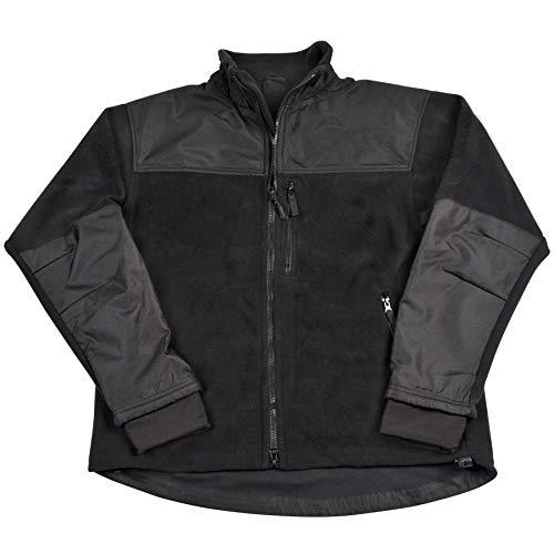 (CONDOR Micro Fleece Jacket (Black, Large))