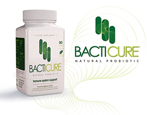 BACTICURE (4) Probiotic Probiotico Natural ORIGINAL by BACTICURE