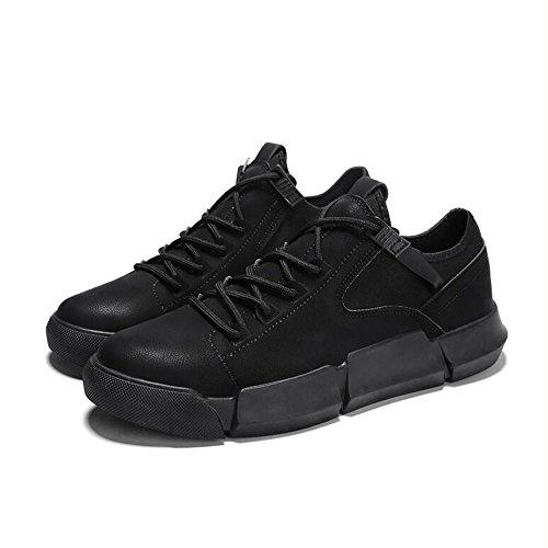 Men's Shoes Feifei Spring and Autumn Fashion Breathable Casual Shoes 3 Colors (Color : 02, Size : EU42/UK8.5/CN43)
