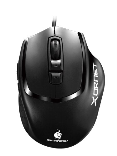 - CM Storm Xornet - Gaming Mouse with 2000 DPI Optical Sensor and Omron Micro Switches