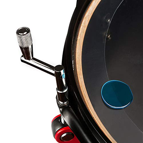 Amortiguadores de tambor 2, Azul, set