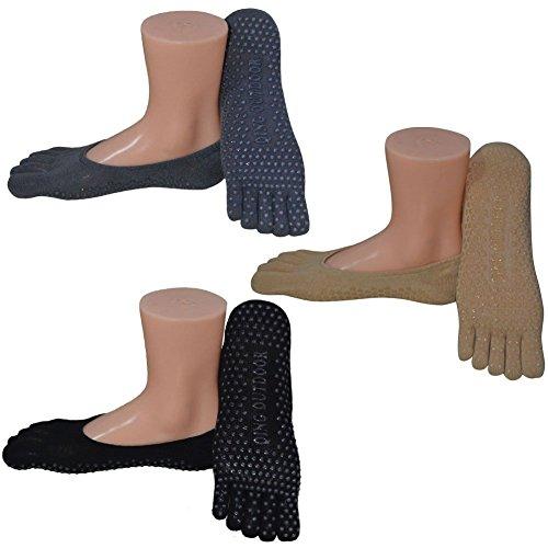 Womens Socks Non Skid Low Cut Yoga Socks Barre Socks for Studio/Hospital/Yoga/Pilates/
